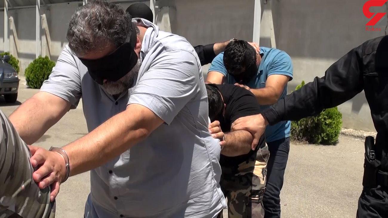 دستگیری 12 اراذل و اوباش در تبریز / کشف 4 قبضه اسلحه