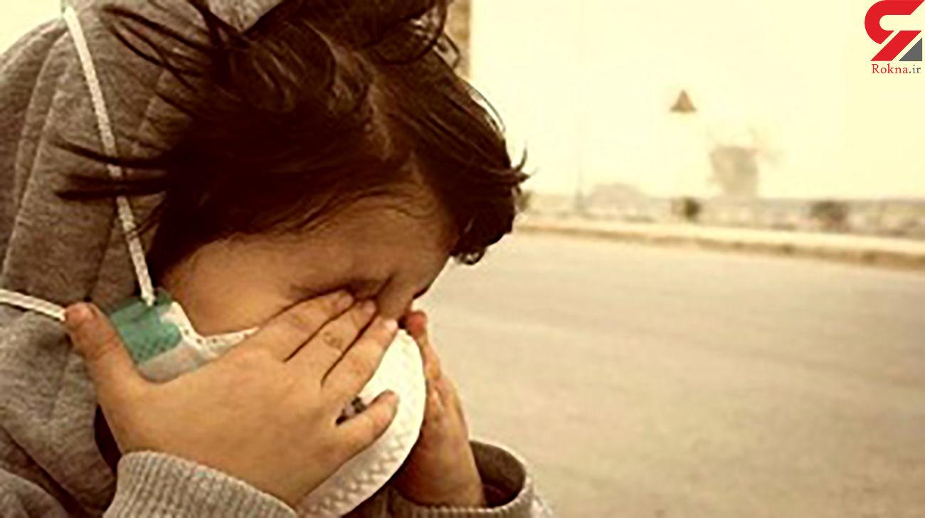 آسمان خوزستان خاکی می شود
