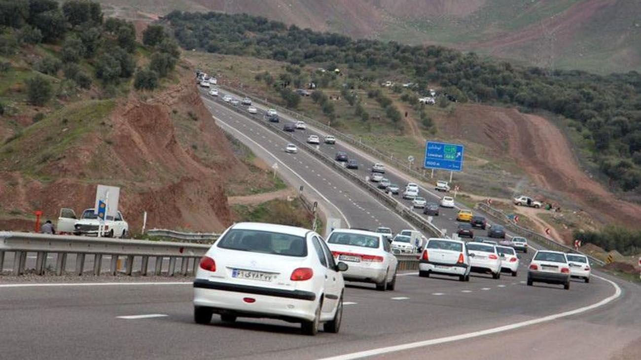 ترافیک سنگین در جاده های شمال کشور