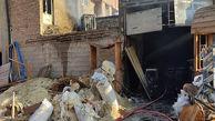 مهار آتش سوزی  کارگاه نجاری در کرمان / بامداد  امروز رخ داد