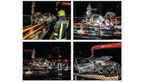 زنده زنده سوختن یک مشهدی در پژو جزغاله شده + عکس