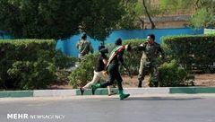 هیچ خبرنگاری در حمله تروریستی به شهادت نرسیده است + عکس