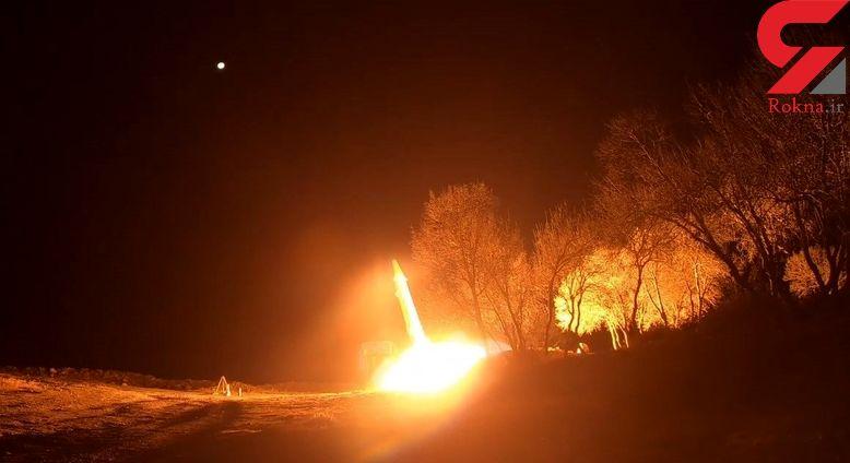 فیلم کامل از انتقام های موشکی ایران  / از منافقین تا امریکایی ها
