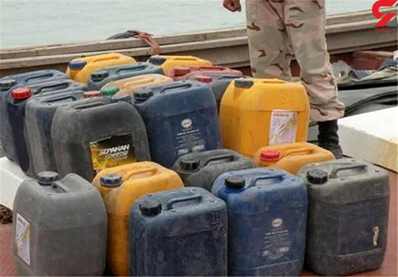 کشف ۶ هزار لیتر سوخت قاچاق در گیلانغرب