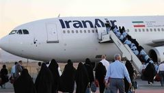 آیین بدرقه نخستین گروه از حجاج ایرانی بیت الله الحرام برگزار شد