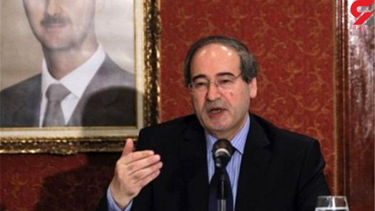 Syrian FM: Killing of Top Iranian Scientist Unjustified Crime