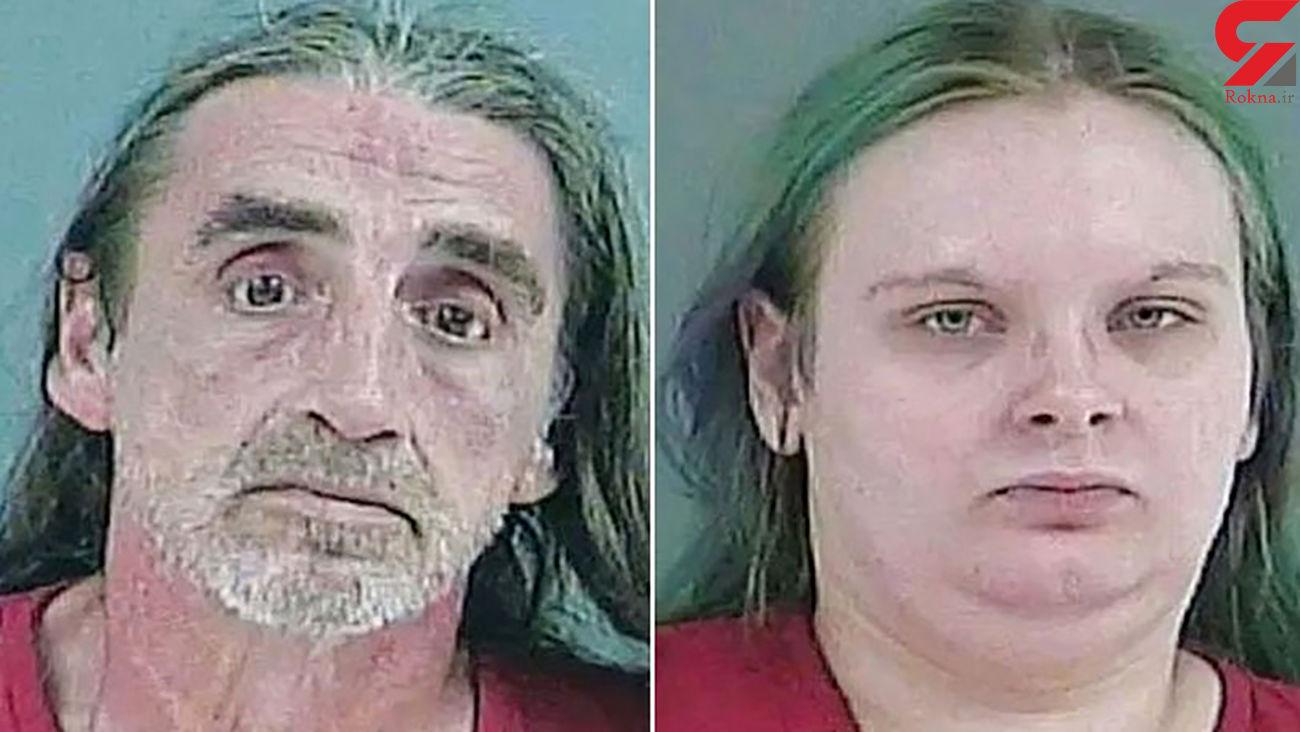 پلیس تکه های بدن یک زن بی خانمان را در یخچال خانه این زوج پلید کشف کرد + عکس