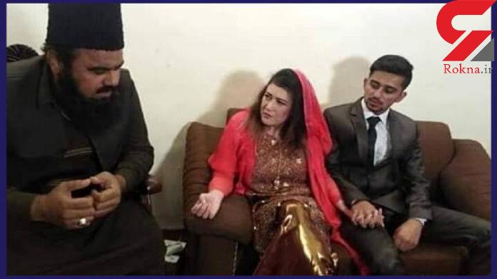 ازدواج پسر دانشجو با استاد 41 ساله اش+فیلم و عکس