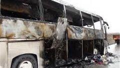 جزئیات تازه از آتشسوزی اتوبوس اهواز-تهران