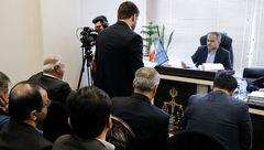 انتشار اولین عکس ها از جلسه محاکمه برادر حسن روحانی ! + جزییات