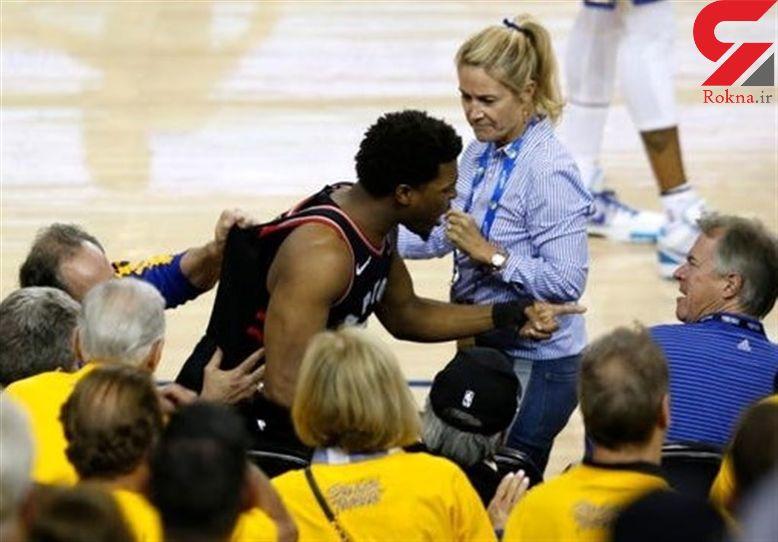 جریمه و محرومیت بسیار سنگین برای میلیارد معروف آمریکایی /  جنجال در فینال بسکتبال NBA