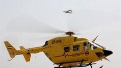 بالگردهای مجهز به سیستم دید در شب و ذخیره خون در ایران به پرواز در میآیند