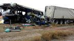 ۸ کشته در حادثه برخورد اتوبوس با کامیون در چین