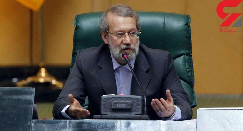لاریجانی: سازمان برنامه و بودجه ۲ هزار میلیارد تومان برای تامین قیر تخصیص دهد