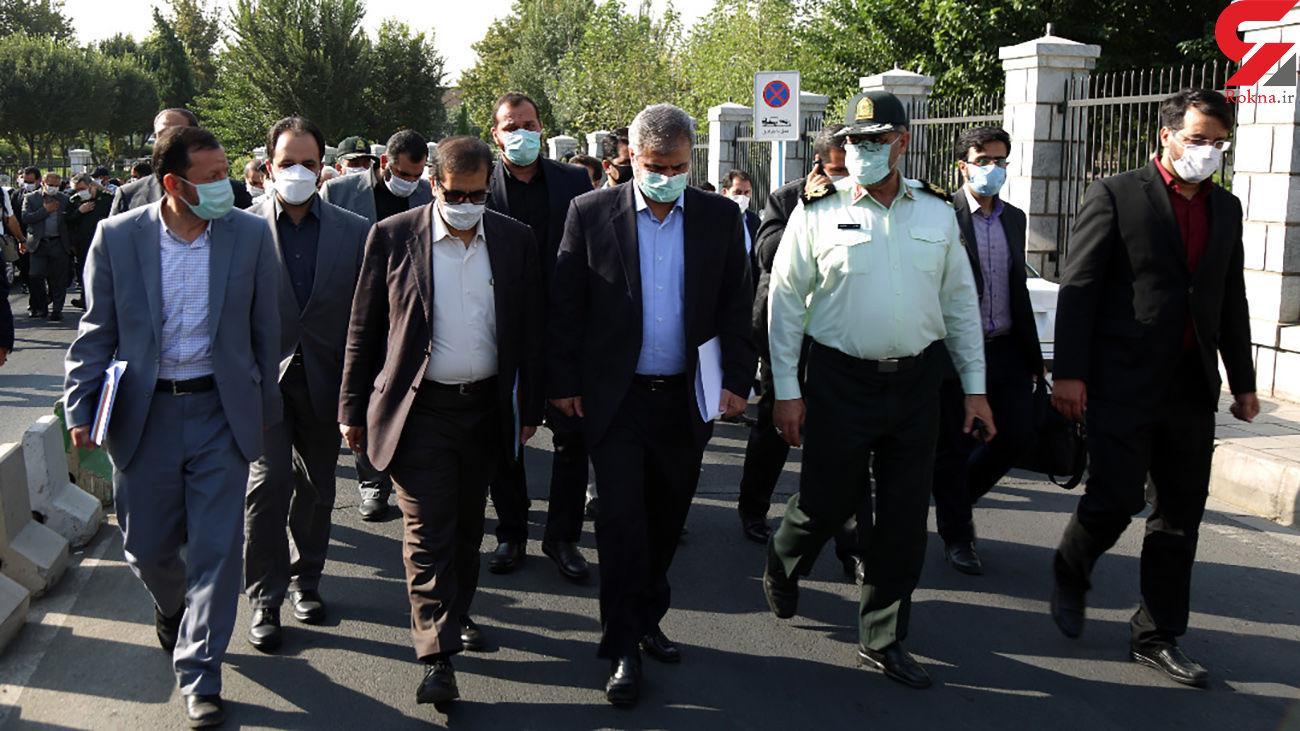 حرکت مثلت پلیس ، سپاه و شهرداری برای پاکسازی دوباره هرندی و مولوی