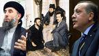 تصویر زانو زدن اردوغان در برابر حکمتیار