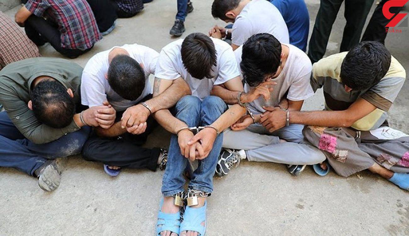 کیف زنانه راز باند زورگیران خشن را فاش کرد / کرمانشاه
