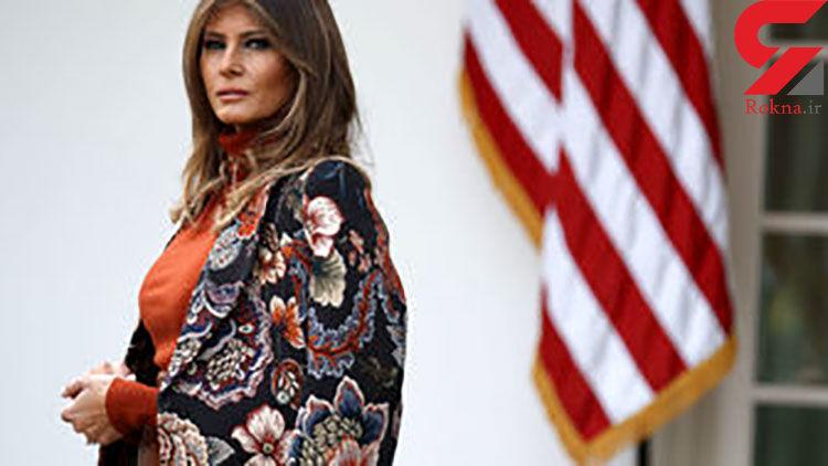 تست کرونای همسر ترامپ مشخص شد