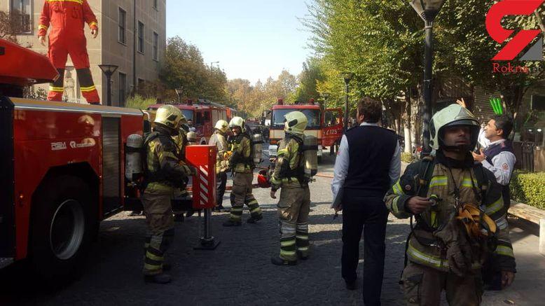 دومین هتل هم در تهران آتش گرفت + عکس