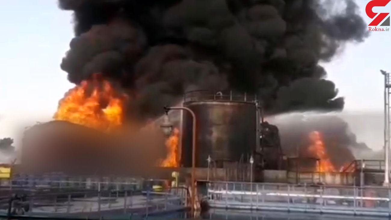 خرابکاری بودن ماهیت حادثه آتش سوزی پالایشگاه نفت تهران رد شد