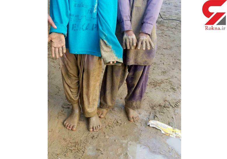 برای نجات آینده  سیستان و بلوچستان سیل زده باید آستین ها را بالا زد + فیلم