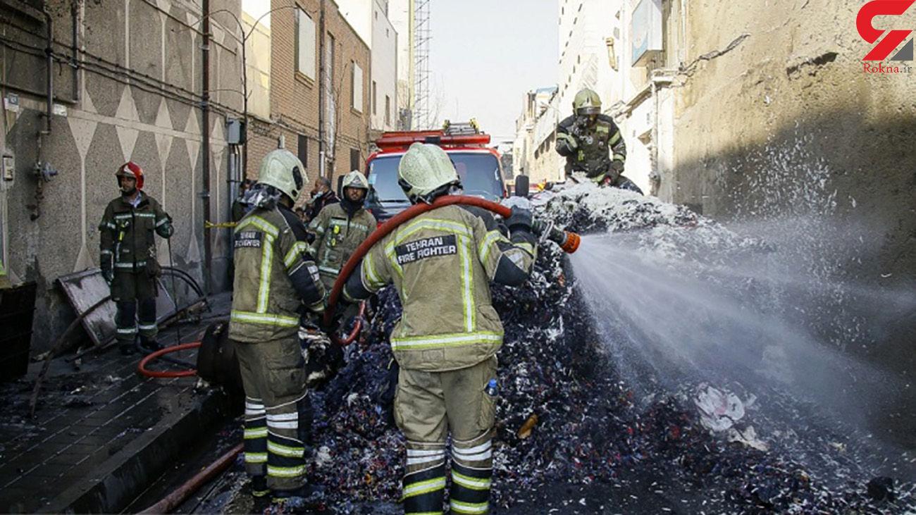 تشکیل پرونده برای آتش سوزی کارخانه مصنوعات پلاستیکی قم
