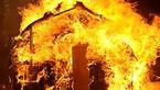 آتش سوزی در انبار کارخانه روغن قزوین