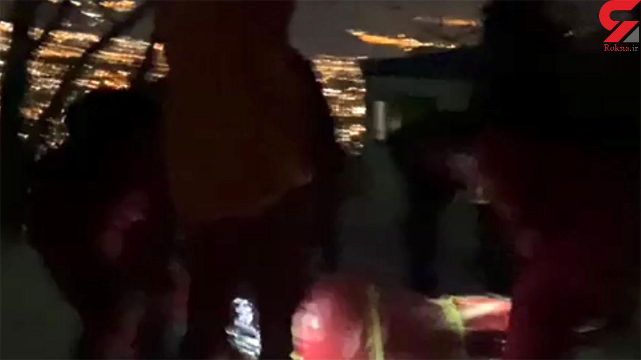 اولین فیلم از لحظه انتقال کوهنورد گرفتار در ارتفاعات شیرپلا