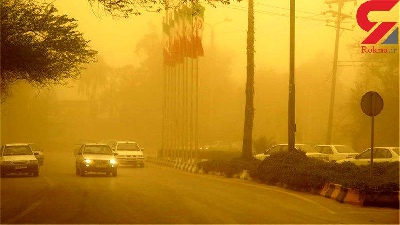 آلودگی هوای سیستان به 5 برابر حد مجاز رسید