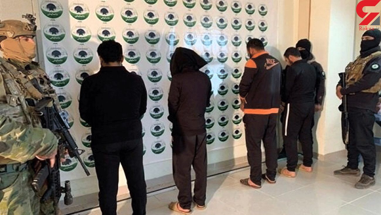 A terrorist team arrested in areas close to Iran (+PHOTO)