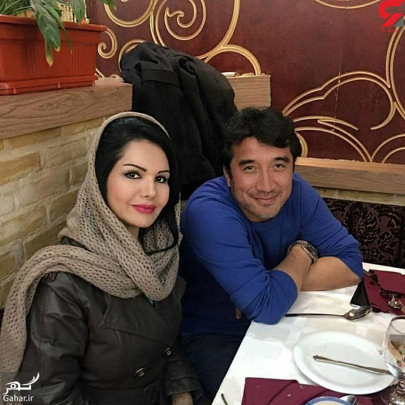 عکس دختر زیبای خداداد عزیزی و همسر محجبه اش ! / شوکه می شوید! + عکس