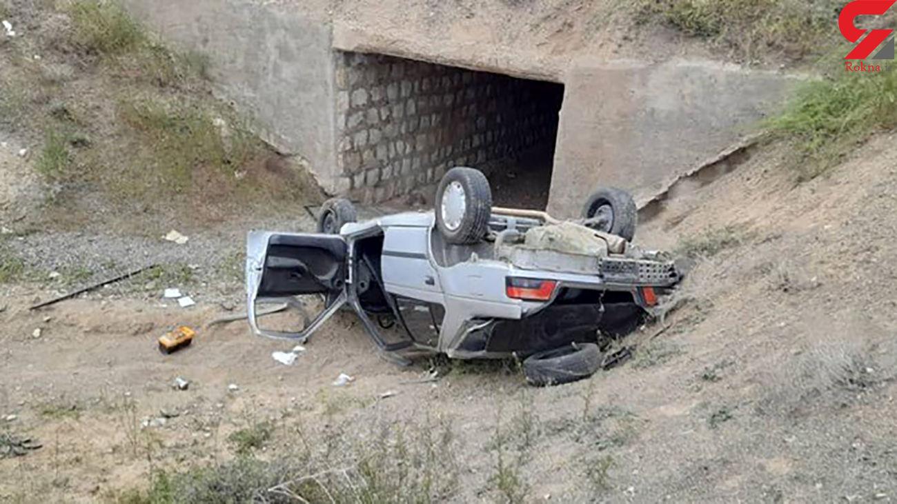 سانحه مرگبار رانندگی محور هریس - تبریز