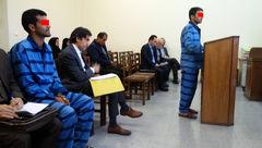 25سال زندان مجازات 2 دزد مسلح طلافروشی خیابان شمشیری تهران + عکس
