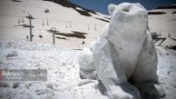 دومین جشنواره مجسمه های برفی و یخی در توچال+فیلم