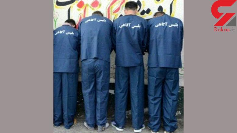 بازداشت دزدان خانه ها در لاهیجان / آنها همدستان خود را لو دادند + عکس