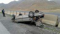 واژگونی پژو در کرمان حادثه آفرید / 9 نفر مصدوم شدند