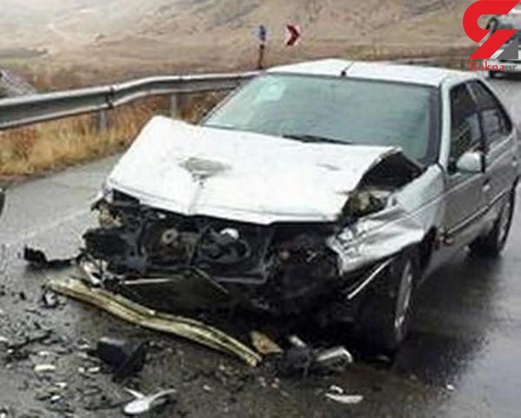 واژگونی پژو یک مصدوم برجای گذاشت / در تهران رخ داد