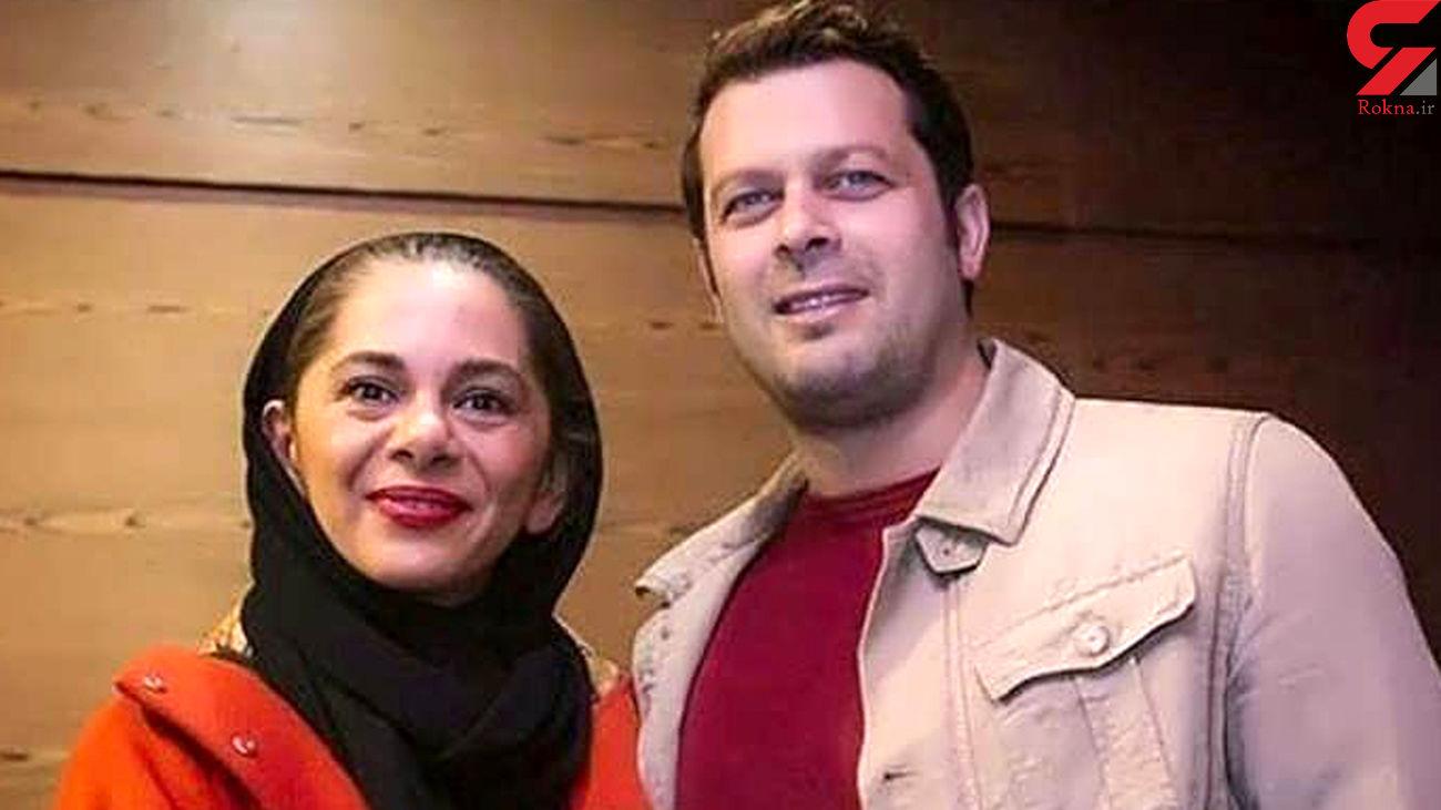 عاشقانه پژمان بازغی در روز تولد همسرش