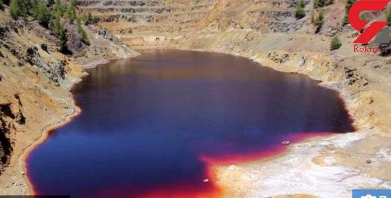 جسد پنجمین قربانی قاتل سریالی قبرس داخل چمدانی در رودخانه ای به رنگ خون پیدا شد +تصاویر