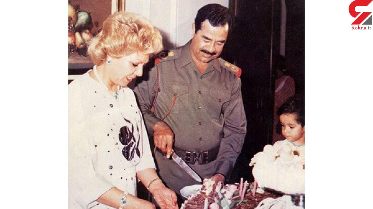 لو رفتن عکس یک زن که پشت صحنه سیاست صدام حسین بود / او کیست؟