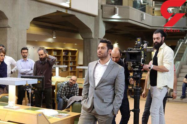 روزهای پایانی ساخت دکور مسابقه ای با اجرای محمدرضا گلزار