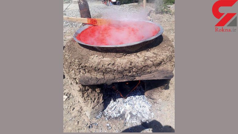 سوختن مرگبار دختر بچه ارومیه در دیگ رب