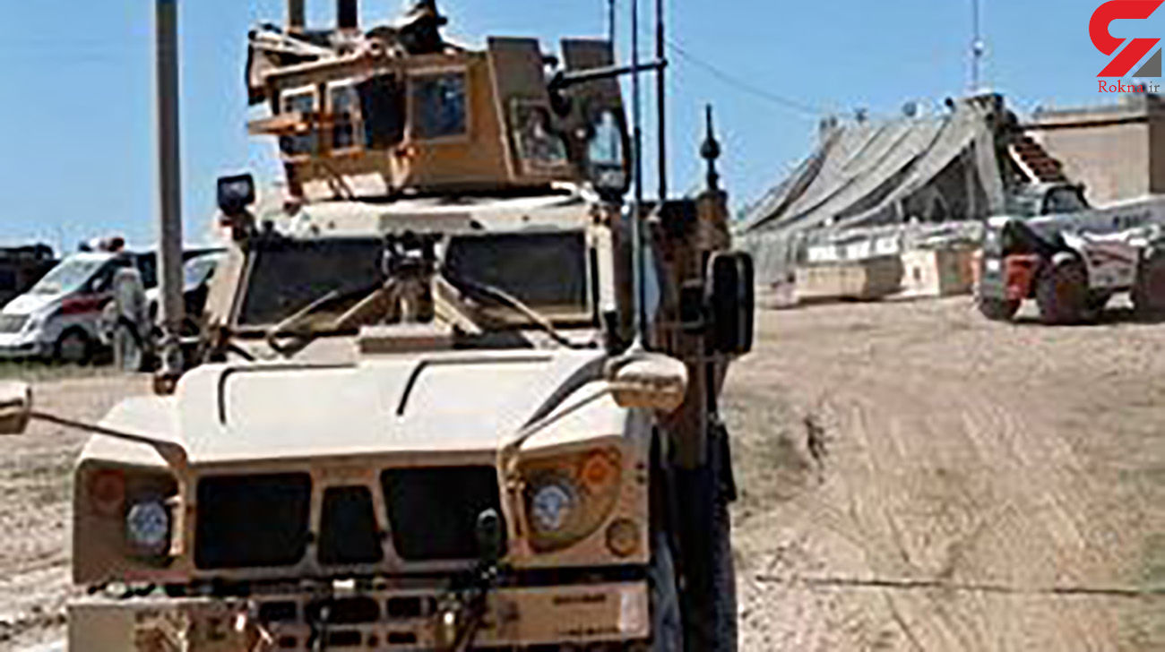 کاروان نظامیان آمریکا به عراق حمله کردند+عکس و فیلم
