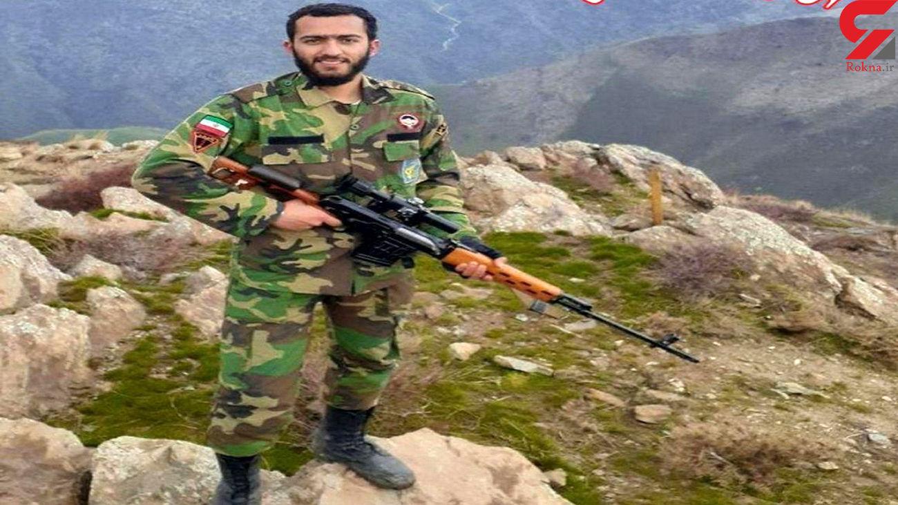 عکس جوان سپاهی که دیروز در سردشت شهید شد