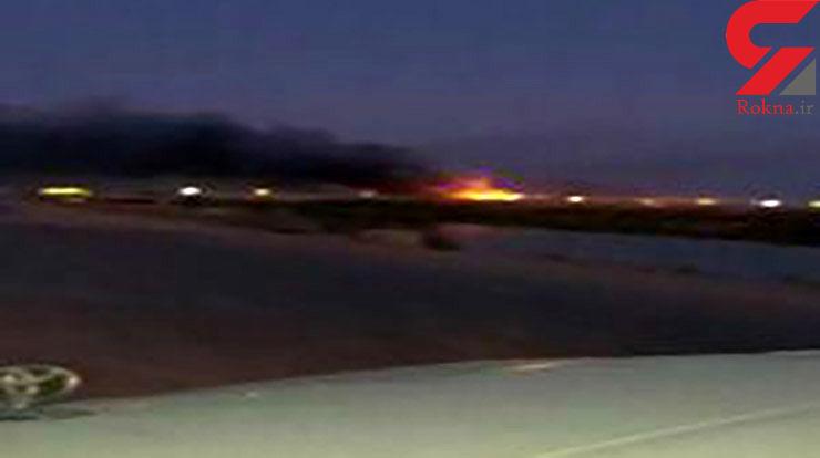 فوری / حمله راکتی مرموز به پایگاه آمریکایی البلد+ تصویر