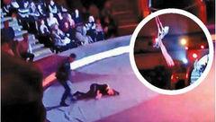 کمـر دختر بندباز روس شکست + عکس