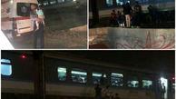 خودکشی فجیع یک جوان در زیر چرخ های قطار مسافربری رباط کریم+عکس