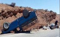 واژگونی خودرو در کوثر موجب مصدوم شدن هشت گردشگر شد