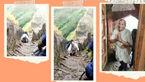 کوهنوردی زن سالخورده در سن ۶۸ سالگی! + فیلم