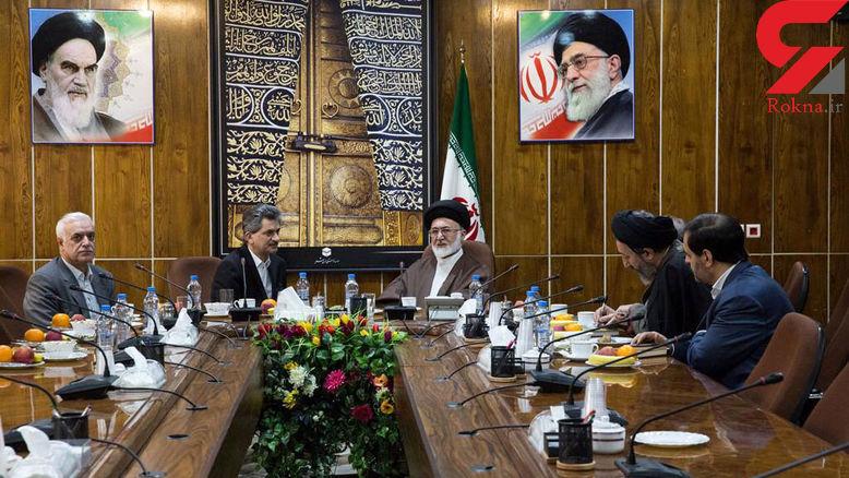 دیدار سفیر ترکیه در ایران با نماینده ولی فقیه در امور حج و زیارت